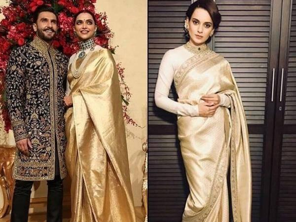 Did Deepika Padukone copy Anushka Sharma while dressing up ...