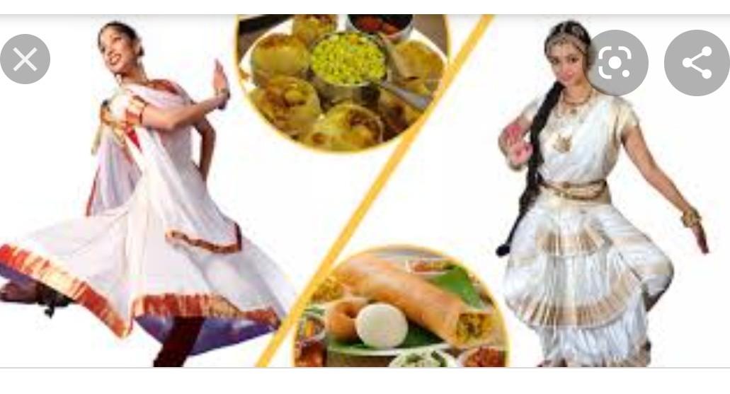 उत्तर भारत और दक्षिण भारत के बीच कुछ प्रमुख सांस्कृतिक अंतर क्या हैं?