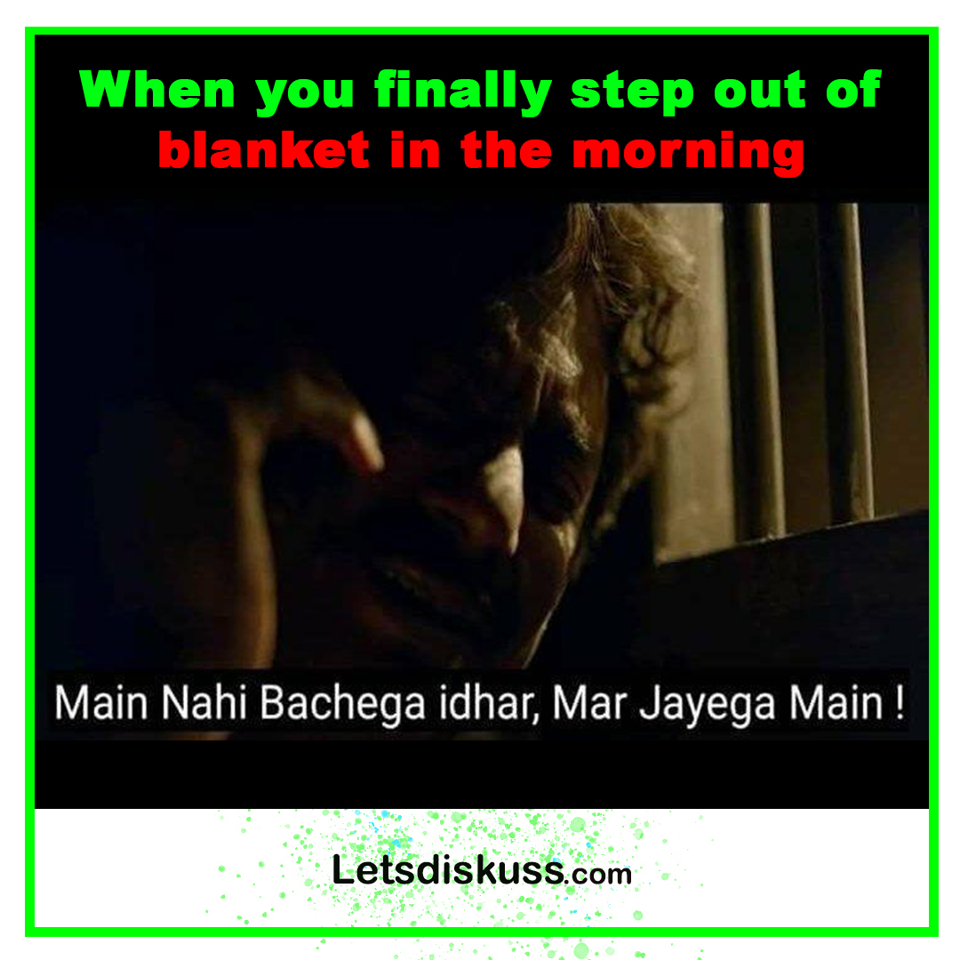 <p class='stitle'>Difficulty is not in waking up in the morning but in stepping out of the blanket after waking up </p><div class='col-xs-6 col-sm-6 col-md-6 text-center'><a class='slider_share' href='#'' data-toggle='modal' data-target='#myModal'><i class='fa fa-heart-o'></i></a></div><div class='col-xs-6 col-sm-6 col-md-6 text-center'><a href='#share' data-url='myurl' class='slider_share' onClick='shareSlide(293)'><i class='fa fa-share-alt'></i></a></div>
