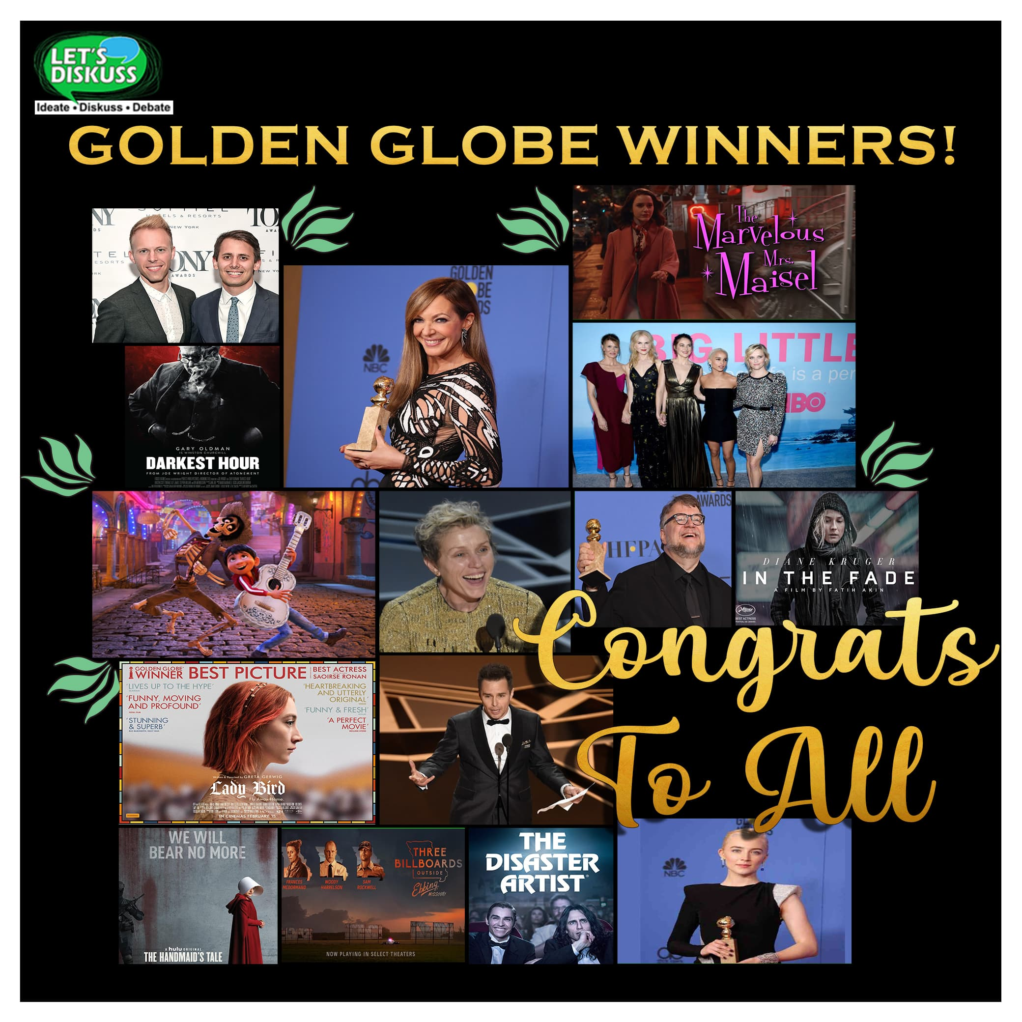 <p class='stitle'>Kudos to all the 76th Golden Globe Awards 2019 winners</p><div class='col-xs-6 col-sm-6 col-md-6 text-center'><a class='slider_share' href='#'' data-toggle='modal' data-target='#myModal'><i class='fa fa-heart-o'></i></a></div><div class='col-xs-6 col-sm-6 col-md-6 text-center'><a href='#share' data-url='myurl' class='slider_share' onClick='shareSlide(330)'><i class='fa fa-share-alt'></i></a></div>