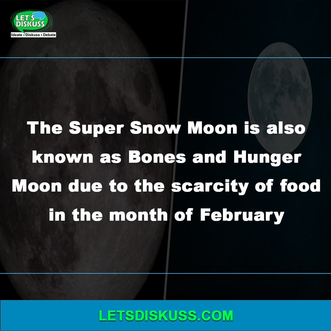 <p class='stitle'>The super snow moon can be seen in the sky tonight</p><div class='col-xs-6 col-sm-6 col-md-6 text-center'><a class='slider_share' href='#'' data-toggle='modal' data-target='#myModal'><i class='fa fa-heart-o'></i></a></div><div class='col-xs-6 col-sm-6 col-md-6 text-center'><a href='#share' data-url='myurl' class='slider_share' onClick='shareSlide(415)'><i class='fa fa-share-alt'></i></a></div>