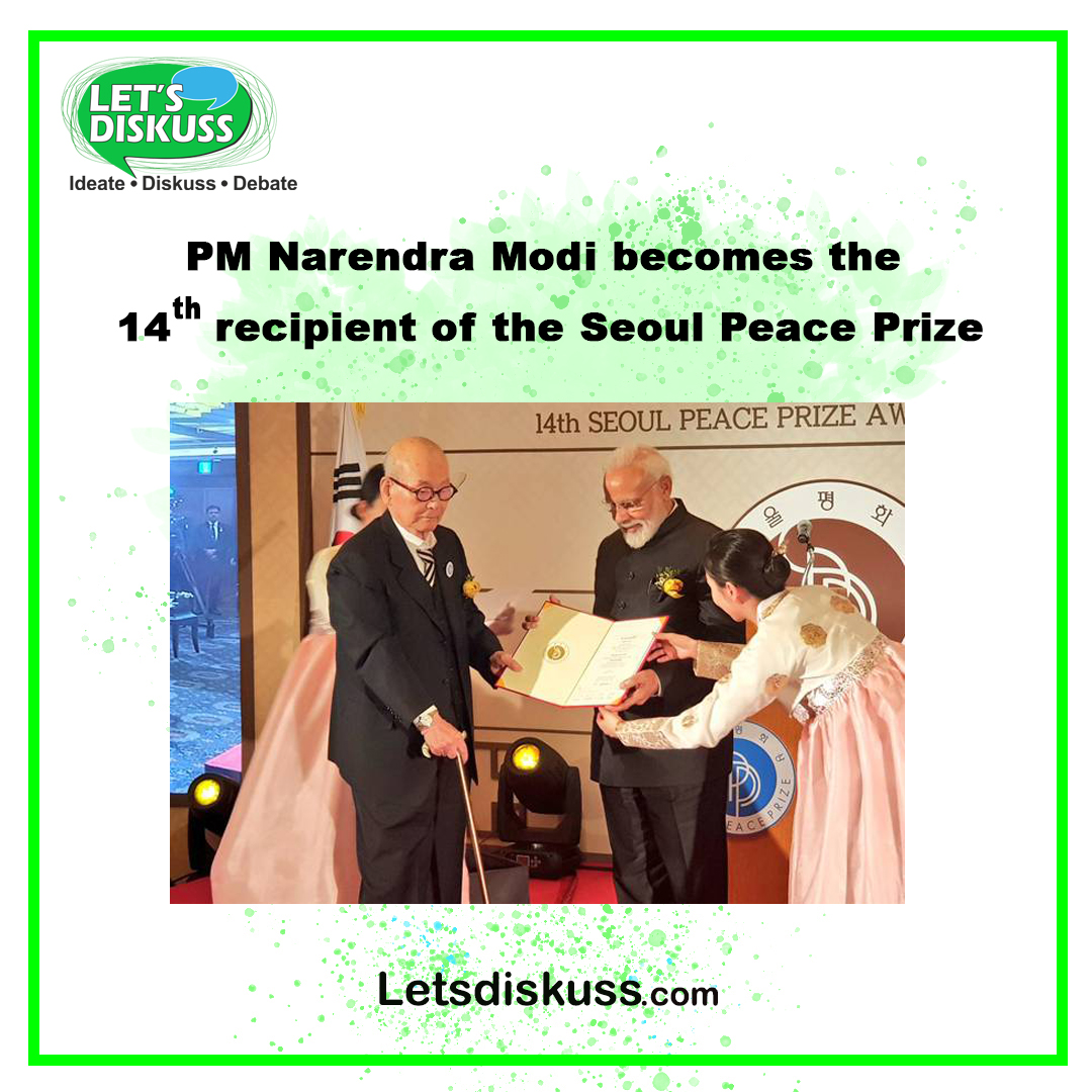 <p class='stitle'>This award belongs to the people the culture of India that have given the message of peace even on the battlefield PM Narendra Modi on winning Seoul Peace Prize</p><div class='col-xs-6 col-sm-6 col-md-6 text-center'><a class='slider_share' href='#'' data-toggle='modal' data-target='#myModal'><i class='fa fa-heart-o'></i></a></div><div class='col-xs-6 col-sm-6 col-md-6 text-center'><a href='#share' data-url='myurl' class='slider_share' onClick='shareSlide(421)'><i class='fa fa-share-alt'></i></a></div>