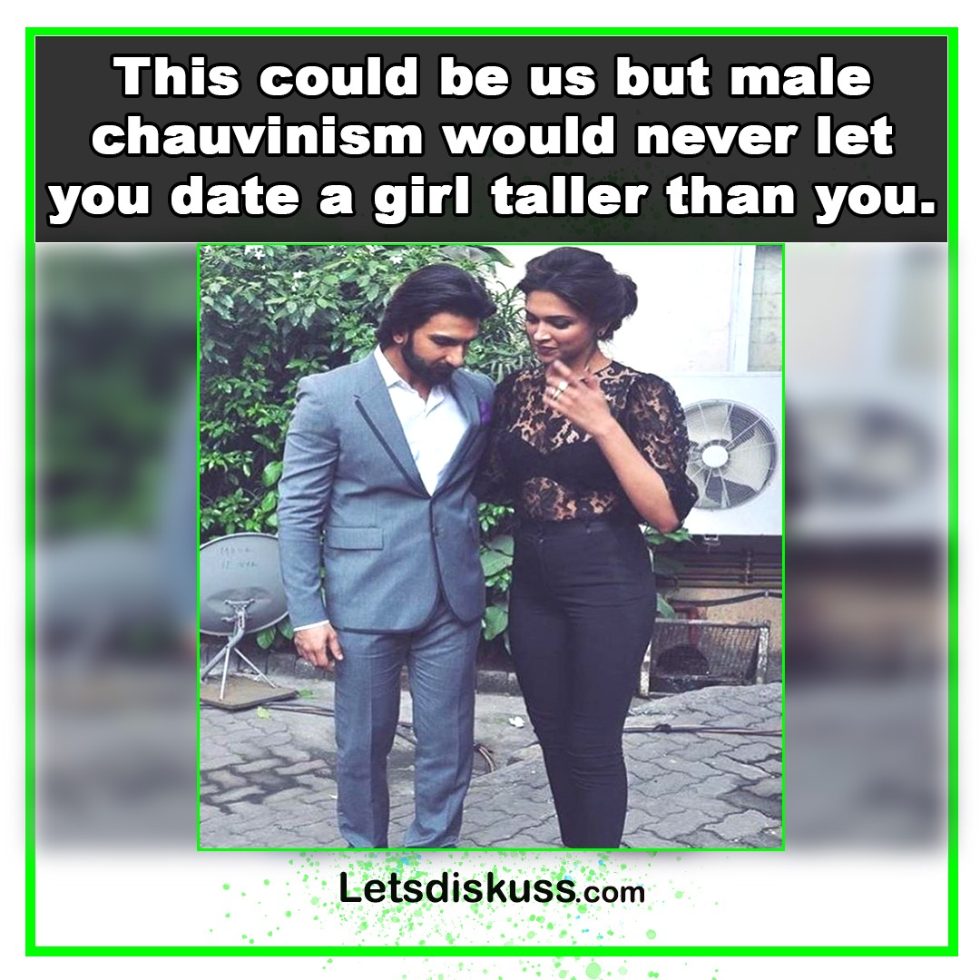 <p class='stitle'>Are you also against dating a girl taller than you  </p><div class='col-xs-6 col-sm-6 col-md-6 text-center'><a class='slider_share' href='#'' data-toggle='modal' data-target='#myModal'><i class='fa fa-heart-o'></i></a></div><div class='col-xs-6 col-sm-6 col-md-6 text-center'><a href='#share' data-url='myurl' class='slider_share' onClick='shareSlide(587)'><i class='fa fa-share-alt'></i></a></div>