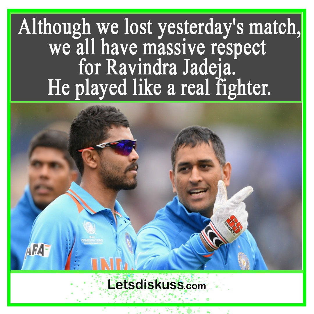 <p class='stitle'>Well played sir Jadeja </p><div class='col-xs-6 col-sm-6 col-md-6 text-center'><a class='slider_share' href='#'' data-toggle='modal' data-target='#myModal'><i class='fa fa-heart-o'></i></a></div><div class='col-xs-6 col-sm-6 col-md-6 text-center'><a href='#share' data-url='myurl' class='slider_share' onClick='shareSlide(693)'><i class='fa fa-share-alt'></i></a></div>